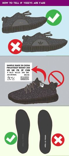 eca27ddac56 How to Tell If Yeezys are Fake -  a  Adidas  are  Check