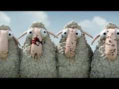 Levensbeschouwing / Two flocks of sheep are searching for companionship. But their shepherds, being at odds with each other, do everything to keep them separated. Small Movie, Films Cinema, Animation, Sheep, Funny Animals, Funny Pictures, Youtube, Cartoon, This Or That Questions