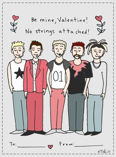 This *NSYNC Valentine's Day card is PERFECT. Justin Timberlake