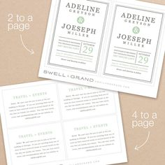 Instant Download  Mint Type  DIY Printable by SwellAndGrand, $25.00