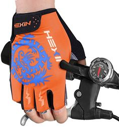 HEXIN Men and Woman Professional Biking Riding Gloves Cycling Gloves Read more  at the image link.