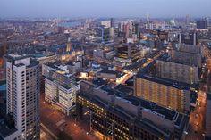 Vogelvlucht Rotterdam (ossip-architectuurfotografie)