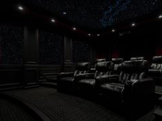 painted star ceilings
