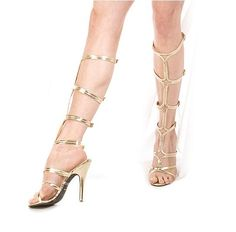 ancient greek goddess style high heel prom shoes - greek shoes 2013 - 2014