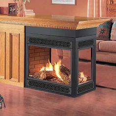 Napoleon Direct Vent Peninsula Fireplace