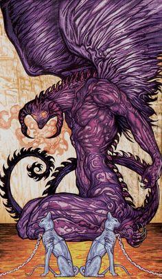 The Devil - Universal Fantasy Tarot