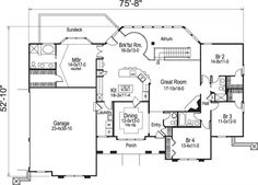 Extreme makeover home edition floor plans home design for Extreme house plans