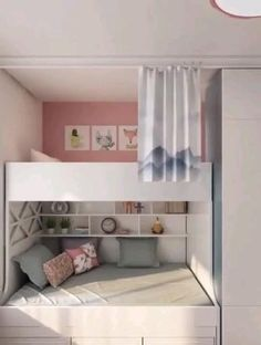 Small Bedroom Interior, Bedroom Decor For Small Rooms, Small Girls Bedrooms, Room Ideas Bedroom, Bedroom Layouts, Layout For Small Bedroom, Girls Bedroom Ideas Ikea, Small Childrens Bedroom Ideas, Decorating Small Bedrooms