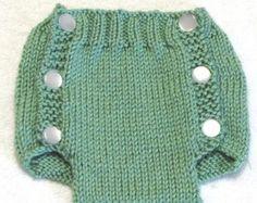 Diaper Cover Knitting Pattern PDF by ezcareknits on Etsy