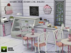 Shabby Chic True Shabby Bakery by TheNumbersWoman at TSR