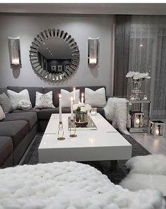 21 grey living room curtains ideas