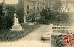 Arènes de Lutèce,  Paris.