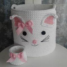 64 Ideas For Crochet Baby Amigurumi Pattern Guys Baby Knitting Patterns, Crochet Basket Pattern, Crochet Chart, Free Crochet, Knit Crochet, Crochet Patterns, Crochet Baskets, Crochet Ideas, Crochet Home