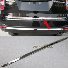 Fit For Subaru Forester 2015 2016 2017 Steel Car Rear Trunk Lid Tailgate Trim