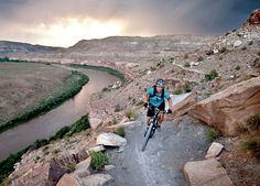 bike and raft on the same day, kokopelli trail and loma to west water