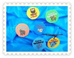 Printable Pins for National Volunteer Appreciation Week!