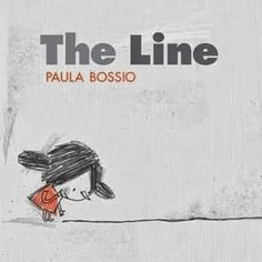 This is a wordless picture book, designed to get kids to use their imaginations by talking about the illustrations, which are simple line drawings. Randomly Reading: The Line by Paula Bossio Wordless Picture Books, Wordless Book, Children's Picture Books, Picture Story, Art Books For Kids, Great Books, Childrens Books, Kid Books, Math Books