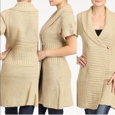 Host Pick. Victoria cable sweater dress Amazing and soft Victoria cable sweater Side button. 100% Acrylic.   Wear with leggings and boots or jeans and boots.  Amazingly versatile. Available in small medium and large. Please do not purchase this listing. Message me to create your own listing. Lewboutiquetwo Sweaters Cardigans