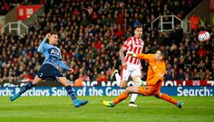 Dele Alli puts Spurs 2-0 up away at Stoke. match ended 4-0. 18/04/16