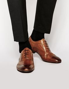 H By Hudson Francis Oxford Brogue Shoes