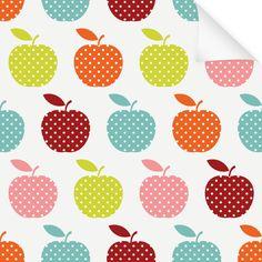 Klebefolie Dekor Muster Apfel Nr. 2
