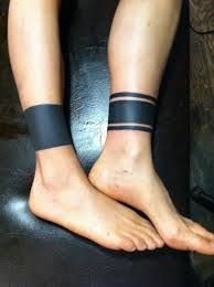 black band tattoo! definitely getting something like this soon with dots
