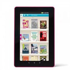 Loving the looks and features of this new ereader/tablet....great price too!