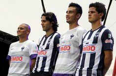 CF Monterrey Nike 2012/13 Home and Away Jerseys