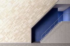 BAUX Acoustic Tiles Plank - Stairway by BAUX | Wall panels