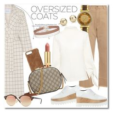 """Oversized Coats"" by vkmd ❤ liked on Polyvore featuring 10 Crosby Derek Lam, Blue Nile, Yves Saint Laurent, Rachel Comey, Michael Kors, HEX, TIBI, STELLA McCARTNEY, Gucci and Ray-Ban"