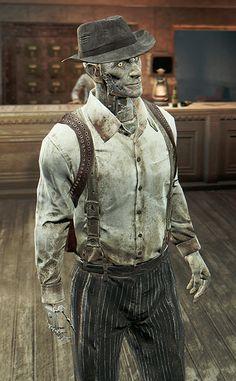 Gangster nick Fallout 4 Nick Valentine, Fallout 4 Companions, Fallout Fan Art, Fall Out 4, Fallout New Vegas, Post Apocalypse, Gurren Lagann, Elder Scrolls, Funny Design