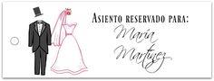 Etiquetas para tus eventos: bodas, bautizos y comuniones www.manualidadesytendencias.com #freebies #etiquetas #marcasitios #bodas #boda #wedding