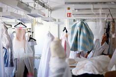 DIOR Haute Couture ateliers in Paris