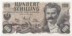 Austria Kronen and Schillings banknotes for sale. Dealer of quality collectible world banknotes, fun notes and banknote accessories serving collectors around the world. Over 5000 world banknotes for sale listed with scans and images online. Central Europe, The Republic, Austria, The 100, Coins, The Past, Memories, History, Retro