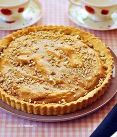 Delicious Desserts, Dessert Recipes, Yummy Food, Bananas, Cake Cookies, Apple Pie, Ale, Food And Drink, Sweets
