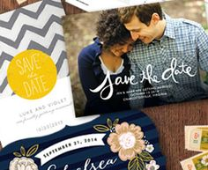 FREE Minted Save the Date Sample Kit