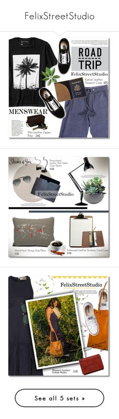 """FelixStreetStudio"" by svijetlana ❤ liked on Polyvore featuring Banana Republic, VNDA, Vans, men's fashion, menswear, roadtrip, polyvoreeditorial, FelixStreetStudio, interior and interiors"