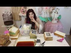 Aging and distressing items/ Part 1 Aging books - YouTube