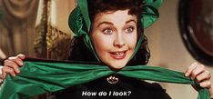 classic film gone with the wind vivien leigh scarlett ohara how do i look trending #GIF on #Giphy via #IFTTT http://gph.is/2d2IWXV
