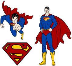 superman clipart clipart panda free clipart images superhero rh pinterest com Wonder Woman Clip Art Free Free Superman Clip Art Black and White