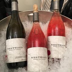Westwood Estate's has a small tasting room in Sonoma, California. They make great Pinot Noir wines and have a new 2015 Rhone white and Pinot Noir rose!