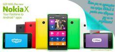 Πείτε μας το αγαπημένο σας χρώμα Nokia X και κερδίστε με κλήρωση το νέο Nokia Χ Dual Sim. Μέρος 5 kokkino