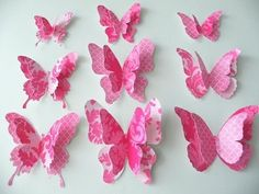 how to make paper butterfly - YouTube