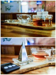 Organic tea at Caffe Crema, Plaza Mont Kiara.