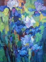 Entwined by Larisa Aukon Oil ~ 16 x 12