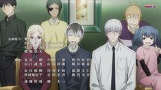 That different ending song from Kawaii Chibi, Kawaii Anime, Akira Mado, Tokyo Ghoul, Saiko Yonebayashi, Fake Family, She Movie, Boy George, Kaneki