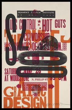 Risultati immagini per david carson poster design David Carson Design, David Carson Work, Poster Design, Graphic Design Posters, Graphic Design Typography, Book Design, Japanese Typography, 3d Typography, Type Design
