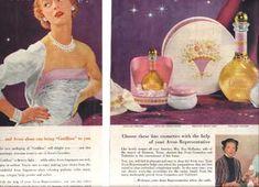 Avon Cotillion perfume advertisement of the 1950's.
