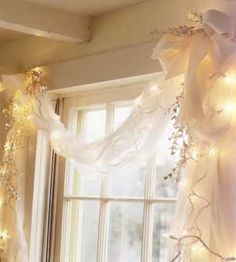 window, dressing, lights (this would be cute in a studio too!)