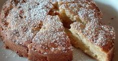 Schnell gerührter Apfelkuchen für eine Springform mit 20cm Durchmesser Krispie Treats, Rice Krispies, Air Fryer Recipes, Catering, Bread, Apple, Homemade, Desserts, Cakes